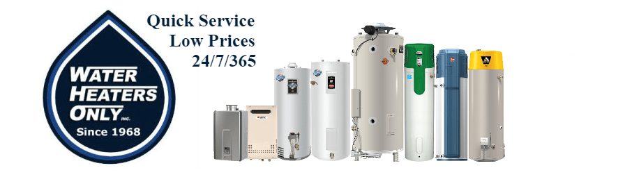 2019 Water Heaters Only Inc Banner Logo