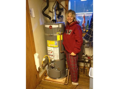 5 Star Happy Water Heater Customer Rina