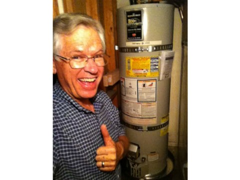 5 Star Review Water Heater Installation Gary