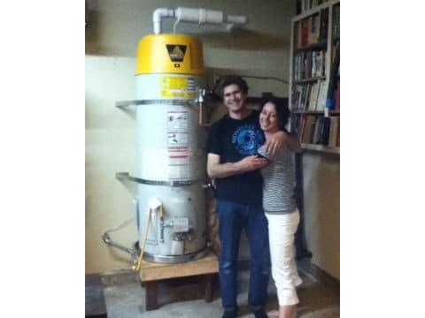 5 star Water Heater Review Customer Speigel