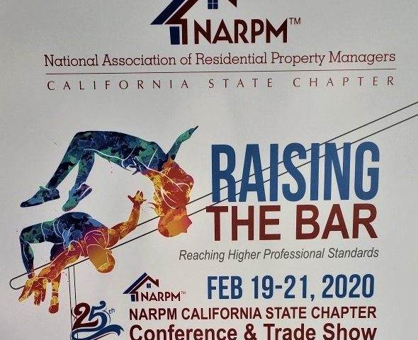 """Raising the Bar"" 25th annual Cal NARPM Conference"