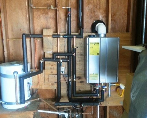 Concord Water heaters Tankless Installation