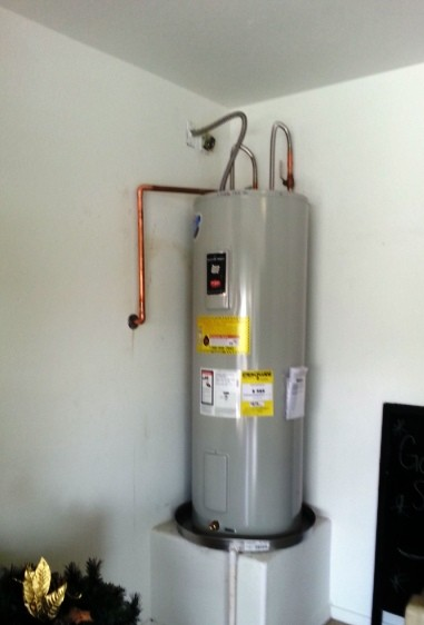 Electric water heaters 381 -562