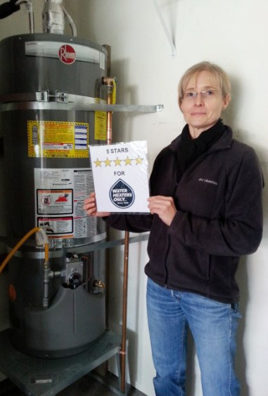 Our Photo 6 Happy Water Heater Review Customer