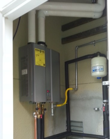 Tankless Water Heater Installation 3