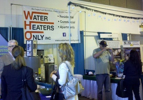 water heaters only inc rha expo 2013